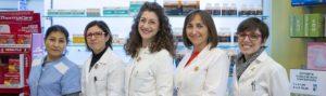 farmaciste e staff farmacia Pietro Cossa Torino
